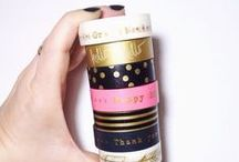 DIY | washi tape / inspiring art and projects with washi tape / masking tape