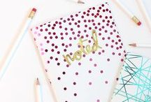 DIY | notebooks / by Miss Sabine