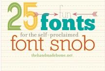 Fonts and Freebies!