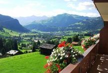 Chalets in Switzerland / Spend your holiday in these stylish Swiss inns and villas.