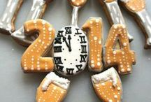 Icing Ideas: New Year's Eve