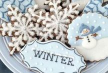 Icing Ideas: Snowy/Wintry