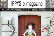 IPPYS e-zine / IPPYS geeft twee keer per jaar een e-zine uit boordevol wooninspiratie en leuke cadeautjes. Woondeco en posters waar je blij van wordt!