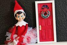 Elf on the shelf ideas / by Meghan Cannon-Coughlan