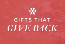 Gifts That Give Back / This holiday season, amongst the holiday shopping and bustle, Sseko is inspiring Gifts that Give Back. Gifts that give Education, Freedom, Choice and Pride to our lovely women in Uganda. #GiftsThatGiveBack #Gifts #Sseko #Pinspiration  Enjoy Free U.S. Shipping on orders $75+ from Dec.1st-Dec.24th. Use Code: SsekoSanta  / by Sseko Designs