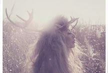 GIRL ANTLERS / When you grow up, you'll be a deer. / by Amy