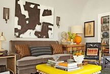 In the Mix: Texture & Patterns / Eclectic decor