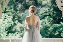 Gray and white weddings