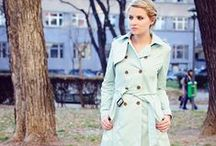 Spring Trench Coats / For more style inspiration visit www.tangerstylemaker.com