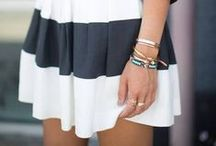 Black and White - Summer Styles / For more style inspiration visit www.tangerstylemaker.com