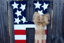 Red, White and Blue / by Trish Turner