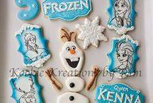 Icing Ideas: Kids: Frozen