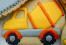 Icing Ideas: Kids: Wheels