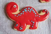Icing Ideas: Kids: Dinosaurs