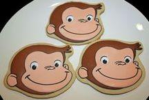 Icing Ideas: Kids: Monkeys