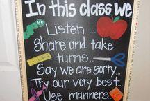 School/classroom ideas / by Trish Turner