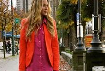 Vibrant Fall Hues / For more style inspiration visit www.tangerstylemaker.com