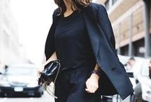 BLACK / The color black is a perennial classic that exudes confidence, style and utter polish.