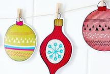 DIY | ornaments / all kinds of lovely christmas tree ornaments