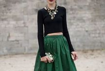 Emerald Green / For more style inspiration visit www.tangerstylemaker.com