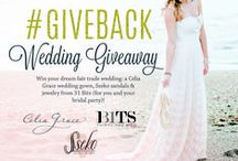 #GiveBack Wedding Giveaway / Enter to win your dream fair trade wedding by pinning images from this board + submitting your board URL at SsekoDesigns.com/EmpowerEverAfter! || Win a handmade silk gown for you, plus sandals and jewelry for you & your entire bridal party! Celia Grace, Sseko Designs + 31 Bits each empower women globally to overcome adversity and pursue their dreams. / by Sseko Designs