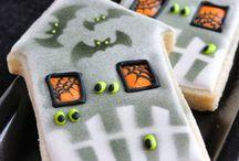 Icing Ideas: Halloween: haunted houses
