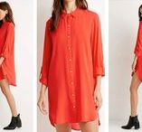 The Shirt Dress / For more style inspiration visit www.tangerstylemaker.com