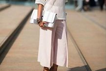 How To Style Culottes / For more style inspiration visit www.tangerstylemaker.com