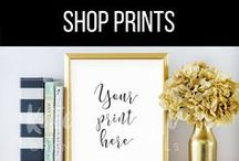 Frame Mockups that Sell More Prints / Mockups for Etsy Sellers. Great for Digital Downloads and Prints. Styled Mockups to Brand your Shop!