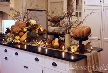 Fall and Thanksgiving Decorating / by Tracy Fought