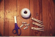 crafty. / Crafts that will never be done, in spite of good intentions.