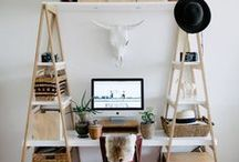 Decorating / I hope I'm considered creative, but when I don't feel like I am, I come here for inspiration.  http://theclosetdime.com