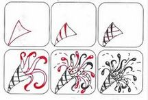 Zentangle Tutorials / Don't forget to check out my Zentangles board as well! / by MostlyCooking