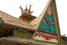 Abode: Adventureland, tiki, Polynesian pop / Because I want to feel like I live in Disney World's Adventureland. / by Tina