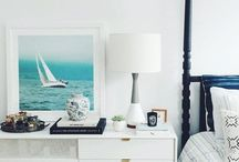 DWELL // beach house / Relax and breathe in the ocean air. Beach house interior design, beach house design, beach condo, condo interior design, coastal style, coastal interior design, coastal decor, beach decor, ocean style, ocean design, seashells, driftwood, sea.