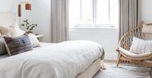 DWELL // master bedroom / Master bedroom interior design, master bedroom decor, master bedroom style, cozy master bedroom, fresh master bedroom, airy master bedroom, eclectic master bedroom.
