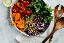 VEG // lunch / Vegetarian lunch, vegetarian meal, vegan dinner, vegan meal, easy vegetarian lunch, quick vegetarian meal, vegetarian salad, vegan salad, healthy salad.