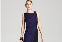 Drape and jersey dresses / I think every woman over 40 should have a nicely draped jersey dress. They are flattering, comfortable and often very affordable! Although the best length for a drape dress worn on its own is knee length, you can also wear drape dresses over pants and leggings. That is why I feature drape dresses of all lengths on this board!