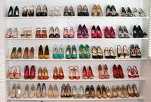 shoe storage / Ideas for storing your shoes. You can find an overview of ideas and solution at: http://40plusstyle.com/how-to-store-shoes-lots-of-ideas-to-get-organised/ / by 40PlusStyle / Sylvia