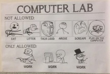 computer lab / by Danielle Girard