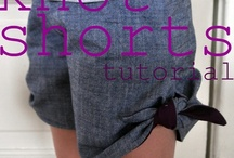 shorts and pants patterns and tutorials  / by Heather Southwell