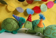 sewing toys and plush  / by Heather Southwell