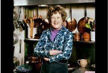 Julia Child / Cook, chef, Paul, France, expat, Bon Appetit,  / by Kim Thompson