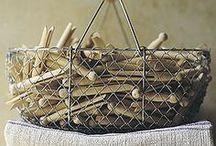 Baskets / by Kim Thompson