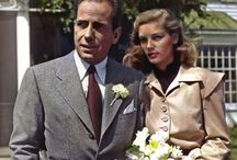 Bogey & Bacall / Betty, Bogey, Humphrey Bogart, Lauren Bacall / by Kim Thompson