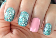 Purty nails and makeup / by Tracy Bryan