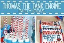 Thomas birthday party
