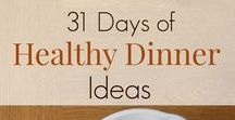 31 Days of Healthy Dinner Ideas / A healthy dinner idea for every day of the month. THM, Paleo, Real Food.