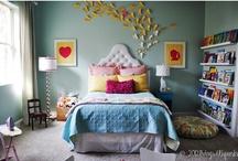Whimsical Little Girl's Room