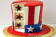 4th of July / My country tis of the, sweet land of liberty... Show your American pride. / by Fizzy Party